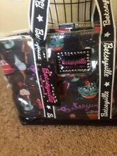 """Betseyville Clear Carrying Tote Bag by Betsey Johnson """"Ice Cream"""""""
