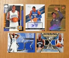 Dwight Howard Autograph/Rookie/Jersey Lot of 5 Auto