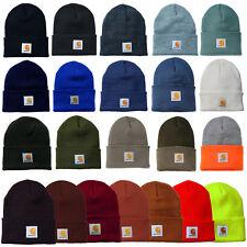 Carhartt bonnet Montre acrylique A18 chapeau cappello Hattu Genuine unicolore
