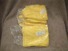 """12 PAIRS OF SIZE 9 LATEX RUBBER GLOVES MADE IN MEXICO 11"""" LONG PROTECTIVE IND."""