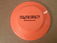 Dr Demento Frisbee **Dementia Online** Radio Show Fan Club Demented Neon Orange