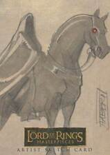Lord of the Rings LOTR Masterpieces sketch Fabbri Nazgul