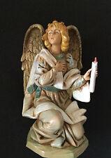 KNEELING ANGEL #72818 FONTANINI 7.5 INCH HEIRLOOM NATIVITY RARE FIND