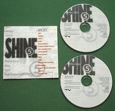 Shine 5 Ash Dodgy Pulp Oasis Shed Seven Radiohead Space Longpigs Cast + 2 x CD