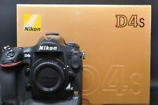 [Near Mint in Box] Nikon D4S 16.2MP Digital SLR Camera Black Body