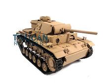 100% Metal Mato 1/16 Panzer Iii Rc Rtr Tank Model Bb Shooting Pellet Yellow 1223