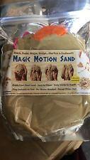 Kids Magic Motion Sand Kit - 3 Unique Moulds for fun -500grams -98.3% Beach Sand