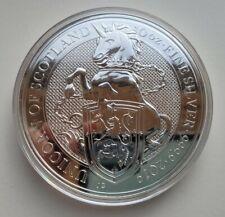 2019 10 Oz Silver £10 UK Queen Beast UNICORN OF SCOTLAND