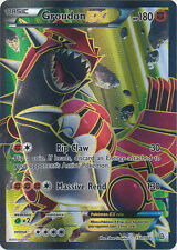 Pokemon Primal Clash Groudon-EX - 150/160 - Full Art Card
