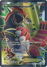 Pokemon Primal Clash Groudon-EX - 150/160 - Full Art Card