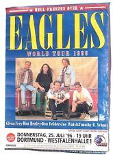 Vtg 1996 Eagles World Tour Dortmund Westfalen Germany Poster