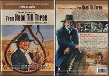 From Noon Till Three (1976) DVD, NEW!! Charles Bronson, Jill Ireland