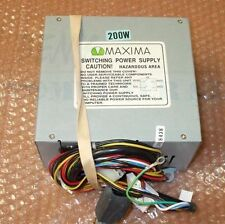 Maxima 3.0818438 200W AT Switching Computer Power Supply, Tested!