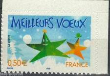 STAMP / TIMBRE FRANCE NEUF N° 3722 ** MEILLEURS VOEUX / ISSUS DE CARNET