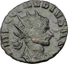 CLAUDIUS II Gothicus 268AD Ancient Roman Coin Fides Pistis Trust  i32246