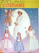 MCCALLS SEWING PATTERN 8332 OOP GIRLS CHILD PRINCESS FAIRY BRIDE COSTUMES SIZE 7