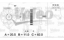 VALEO Alternador FORD TRANSIT 437390