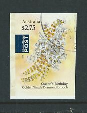 AUSTRALIA 2016 QUEENS 90th BIRTHDAY SELF ADHESIVE INTERNATIONAL STMP FINE USED