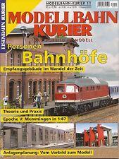 Eisenbahn Kurier EK Modellbahn Heft 11  Personen - Bahnhöfe im Wandel der Zeit