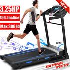 3.25HP Folding Automatic Incline Treadmill Heavy Duty Electric Running* Machine^