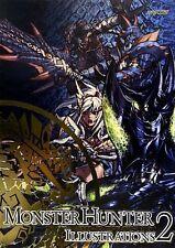 JAPAN Art Book: Monster Hunter Illustrations 2