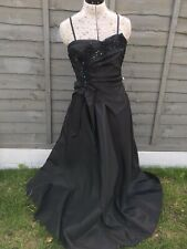 Special occasion dress, Bridesmaid.Prom.Ball Gown Cocktail.size 12, black.BNWT