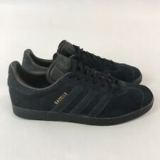 Adidas Gazelle Leather Suede Lace Up Sneakers Trainers Shoes Size UK10