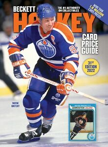 New 2022 Beckett HOCKEY CARD Annual Price Guide 31st Edition with WAYNE GRETZKY