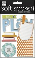 Soft Spoken LETs PLAY - Scrapbook Dimensional Craft Sticker by MAMBI Sale
