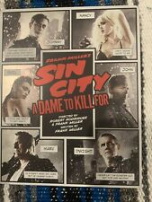 Sin City A Dame To Kill For 3D Blu-ray & Sin City Blu-ray Steelbook Oop No Digi