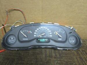 97 98 1997 1998 Buick Century Speedometer Instrument Cluster 388K Miles Oem