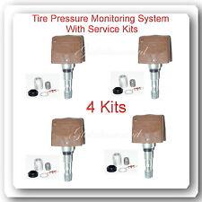 4 Kits TPMS Tire Pressure Monitoring System Sensor Fits Buick Cadillac Chevrolet