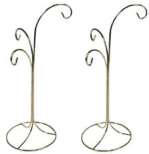 Ornament Display Stand Holder Hanger Has 3 Hooks, 13 inch Tall -Pack of 2 Stands