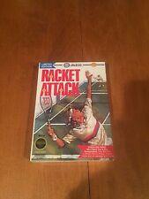 Racket Attack Nintendo NES Video Game NIB Jaleco NIP 1989 Tennis