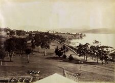 c1890 | John Watt BEATTIE | Government House TASMANIA large albumen photograph