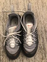 Nike Air Max Axis Sneaker Kids Running Shoe AH5223-003 Grey Size 3Y