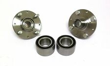 Front Wheel Hub & Bearing Set Honda Civic 92-00 Exc. EX / Del Sol 94-97 W/O ABS