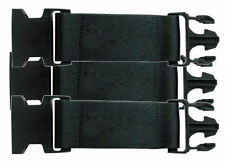 Lot of 3 Tru-Spec Pistol Belt Extender - New Style Quick Release -Black - New!