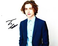 Timothee Chalamet Signed 10X8 Photo AFTAL COA (A)