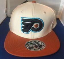 NEW Philadelphia Flyers Zephyr Brand Hat Cap Stretch Fit M/L NHL NWT