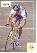CYCLISME carte cycliste LAURENT GANE  équipe COFIDIS 2001