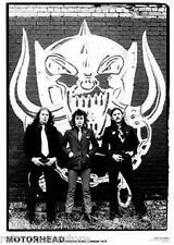 More details for motorhead 1979 new a1 size 84.1cm x 59.4cm - approx 33