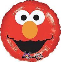 """ELMO SMILES FOIL BALLOON 45CM(18"""") BIRTHDAY PARTY SUPPLIES"""