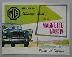 V25588 MG MAGNETTE MARK IV - DEPLIANT - 10/61 - 21x28 - B FR