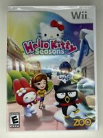 Hello Kitty Seasons (Nintendo Wii, 2010) Video Game Complete CIB Tested