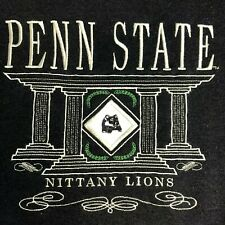Vintage Penn State University Nittany Lions Blue XL Embroidery Sweater Football