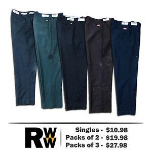 Red Kap DuraKap Industrial Pants Work Uniform Dark Colors PT20 SINGLES & PACKS