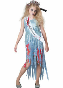 NEW Tween Homecoming Horror Zombie Halloween Costume by Incharacter Size 14/16