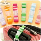 Luggage Strap Nylon Portable Baggage Belt Candy Color Travelling Hold Adjustable