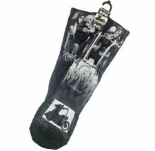 DGA Day of the Dead Ride or Die Rockabilly Art Men's Tube Socks My Old Lady